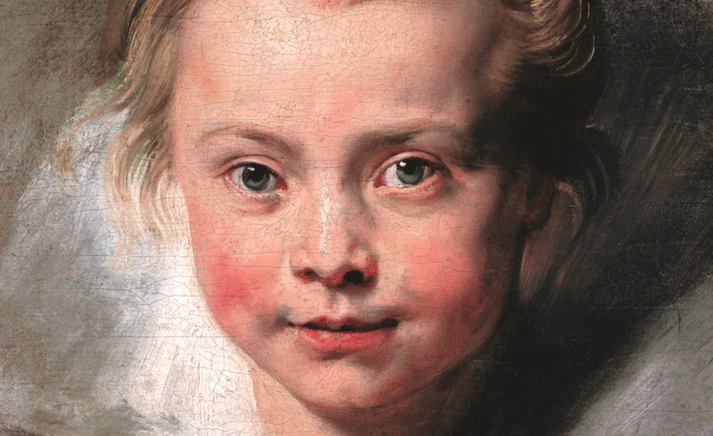 portrait of Rubens' daughter