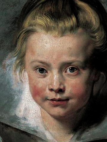 rubens painting of skin tones and highlights