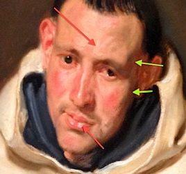 van dyck portrait to teach dark to light painting
