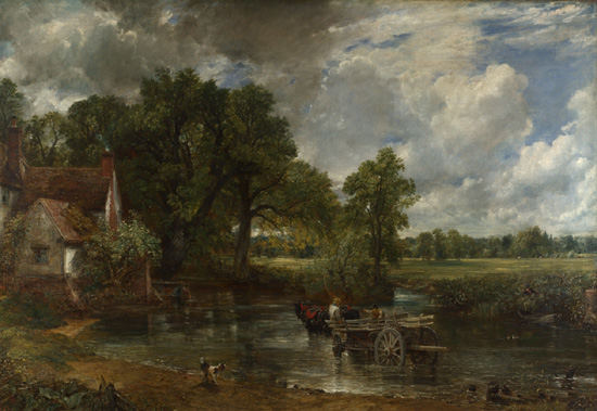 landscape painting by Constable