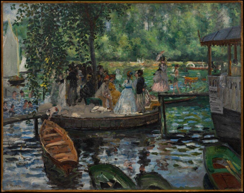 landscape painting by Renoir