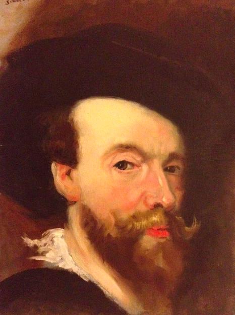 Rubens painting copy